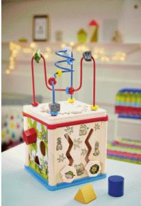 Cube de motricité Lidl