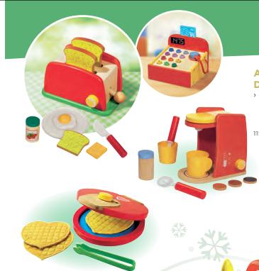 Des jouets qui envoient le bois avec lidl concours inside for Cuisine en bois lidl